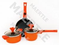 Набор посуды Mini-Mini, оранжевый