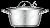 Кастрюля с крышкой Emex 1,9 л.