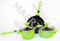 Набор посуды Mini-Mini, зеленый