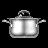 Кастрюля с крышкой EVA 4,2 л.